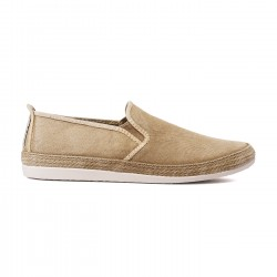 Flossy slip-on manso taupe