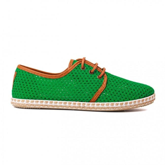Zapatillas Flossy rejilla sotes verde
