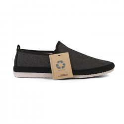 Flossy slip-on Eco Campestre Negro