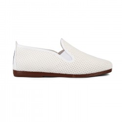 Flossy slip-on Pulga Blanco