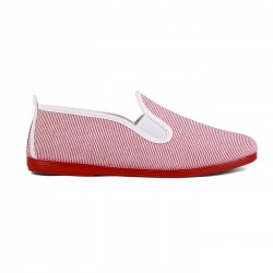 Flossy slip-on Dique Rojo