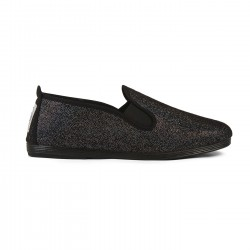 Flossy slip-on Sable Negro